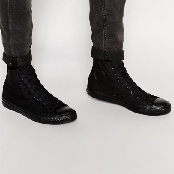 Converse Shoes | Mens All Black